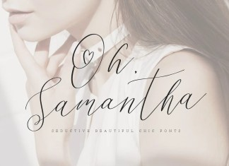 Oh Samantha Script Font
