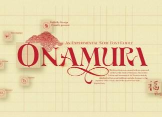 Onamura Display Font