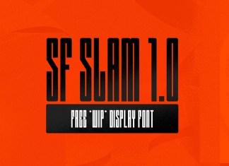 SF SLAM 1.0 Display Font