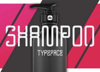 Shampoo Display Font