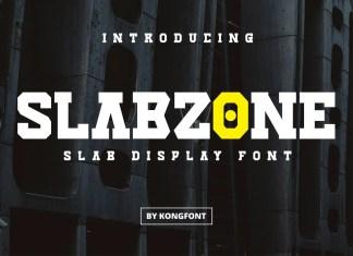 Slabzone Display Font