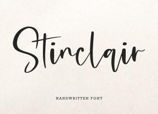 Stinclair Script Font