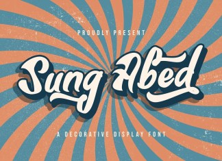Sung Abed Bold Script Font