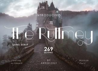 The Ruttmey Sans Serif Font