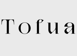 Tofua Serif Font