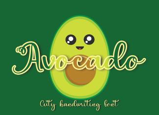 Avocado Script Font