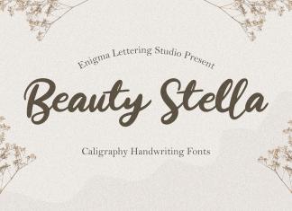 Beauty Stella Script Font