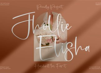 Jhollie Elisha Script Font