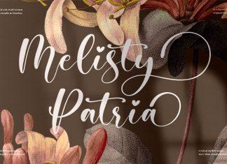 Melisty Patria Script Font