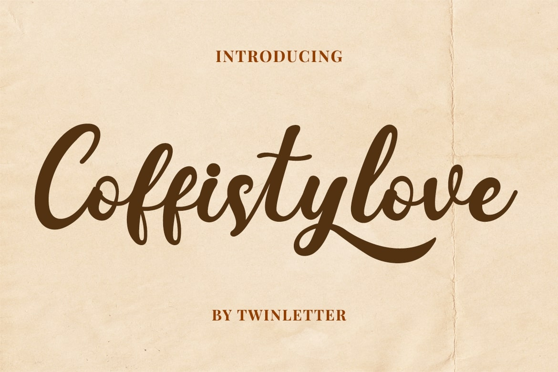 Coffistylove Script Font