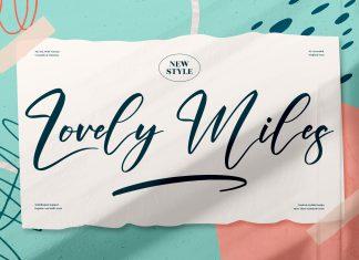Lovely Miles Script Font