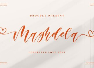 Maghdela Script Font