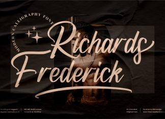Richards Frederick Script Font