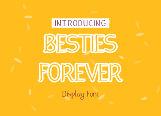 Besties Forever Display font