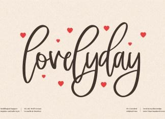 Lovelyday Script Font