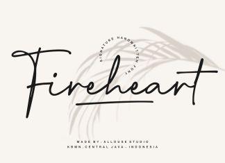 Fireheart Handwritten Font