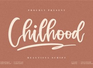 Chilhood Script Font