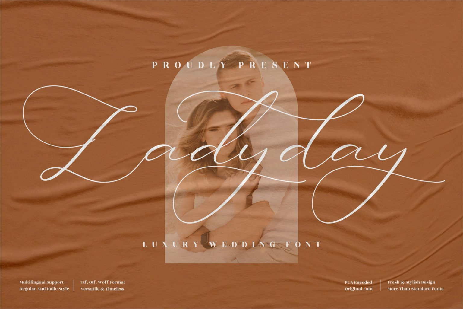 Ladyday Calligraphy Font