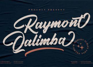 Raymont Qalimba Script Font