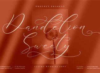 Dandelion Sweety Font