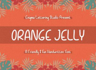 Orange Jelly Display Font