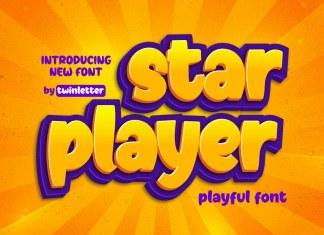 Starplayer Display Font