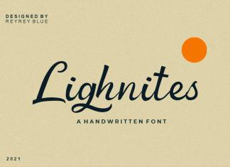 Lighnites Script Font