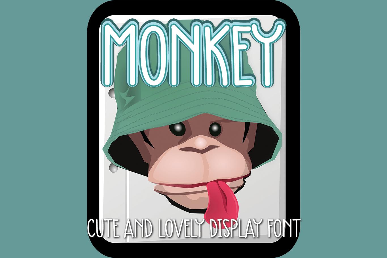 Monkey Display Font