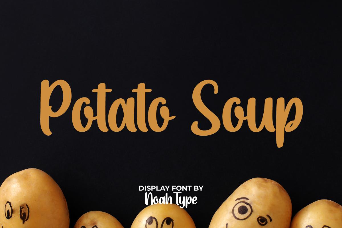 Potato Soup Script Font
