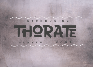 THORATE Display Font