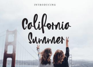 California Summer Script Font