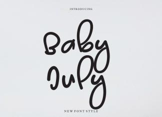 Baby July Script Font