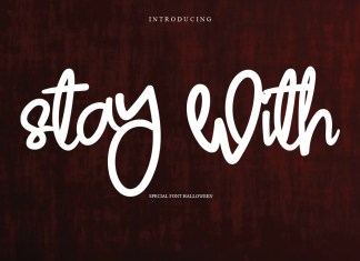 Stay With Font