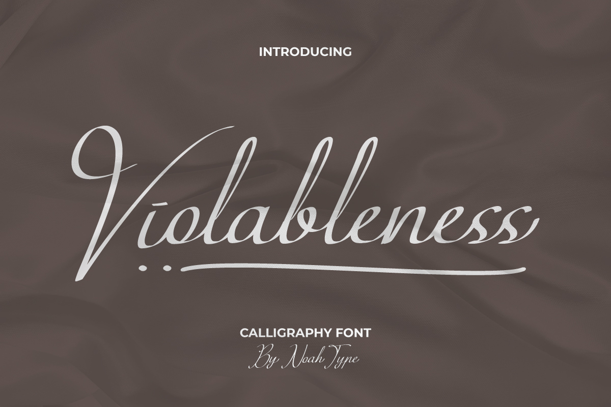 Violableness Script Font