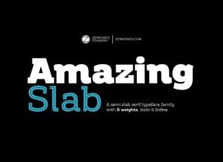 Amazing Slab Serif Font