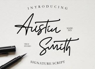 Austin Handwritten typeface