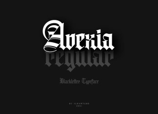 Avexia Blackletter Font