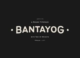 Bantayog Display Font