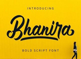 Bhanira Script Font