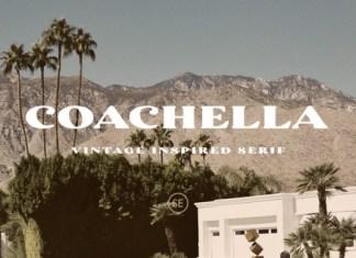 Coachella Serif Font
