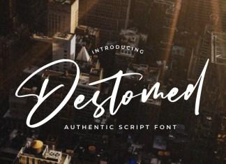 Destomed Script Font