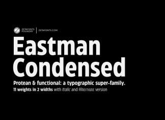 Eastman Condensed Sans Serif Font