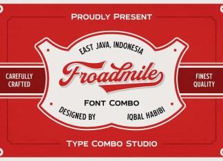 Froadmile Script Font