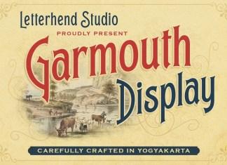 Garmouth Display Font