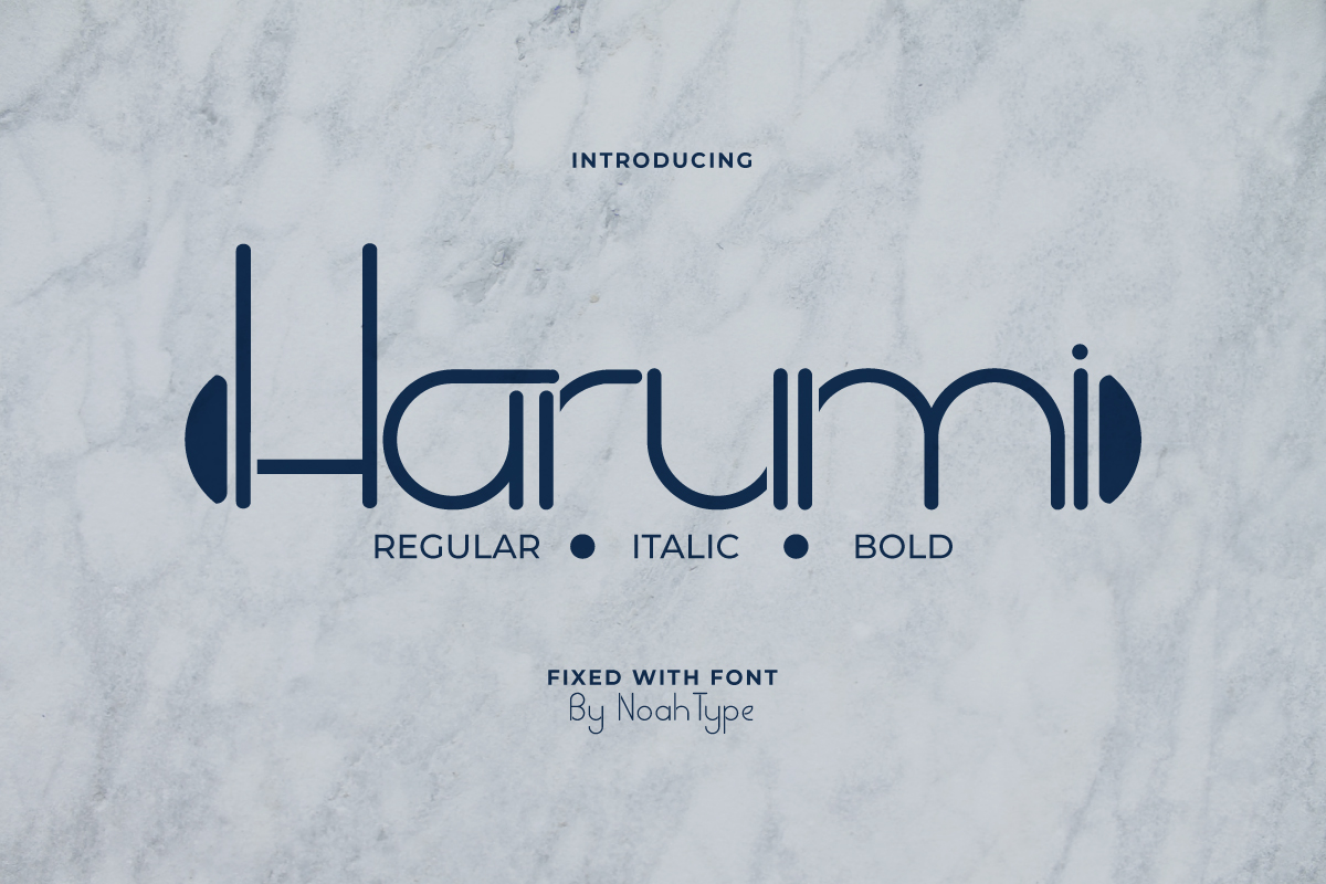 Harumi Font