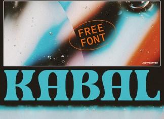 Kabal Bold Serif Font