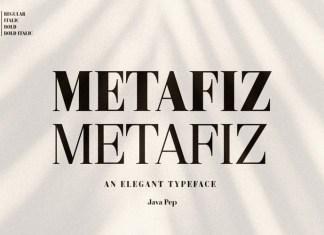 Metafiz Serif Font