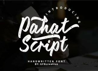 Pahat Script Font