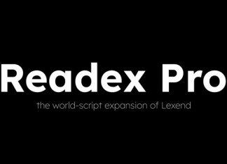 Readex Pro Sans Serif Font