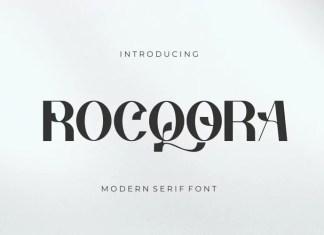 Rocqora Sans Serif Font